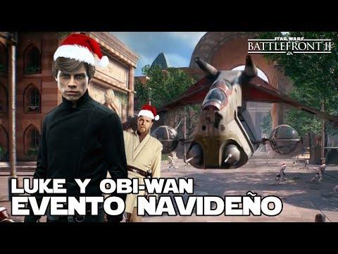 Evento navideño de Star wars Battlefront 2 - Jeshua Revan thumbnail