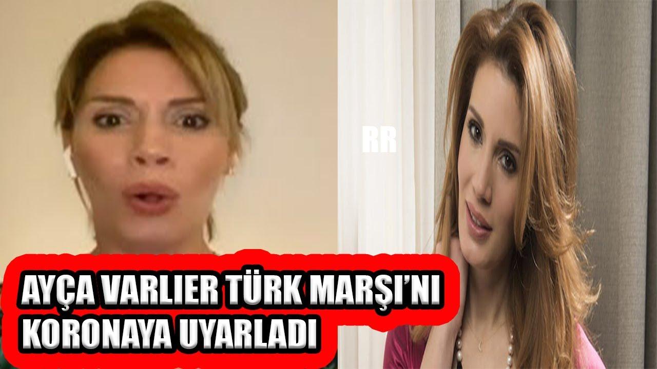 Ayça Varlıer Türk Marşı'ı pandemiye uyarladı! / Ayça Varlıer Korona Marşı