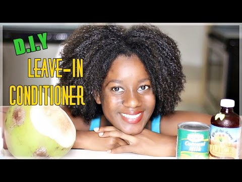 DIY Leave In Conditioner For DRY, DULL Natural Hair And Hair GROWTH