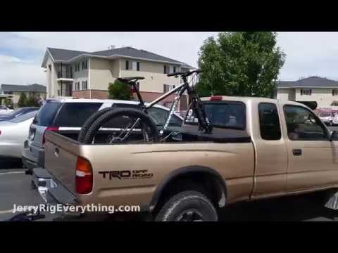 Mount your bike on a Truck Box - EASY - Mountian OR Road Bike