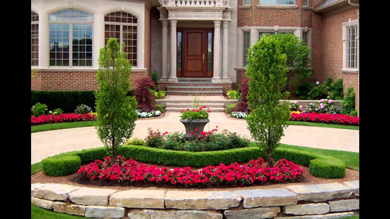 Good Driveway landscaping ideas - YouTube