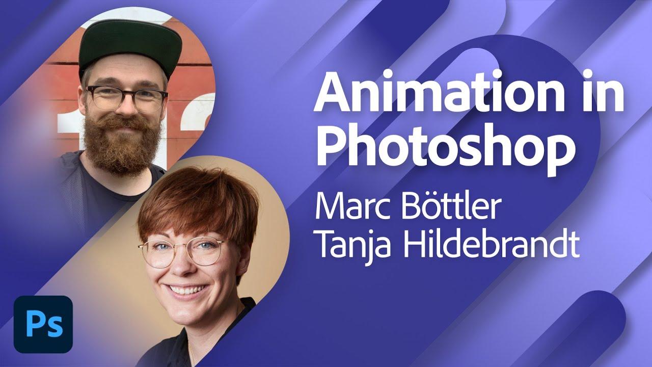 Animation mit Marc Böttler und Tanja Hildebrandt |Adobe Live