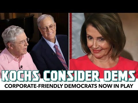 Koch Bros To Spend Money On Corporate Democrats