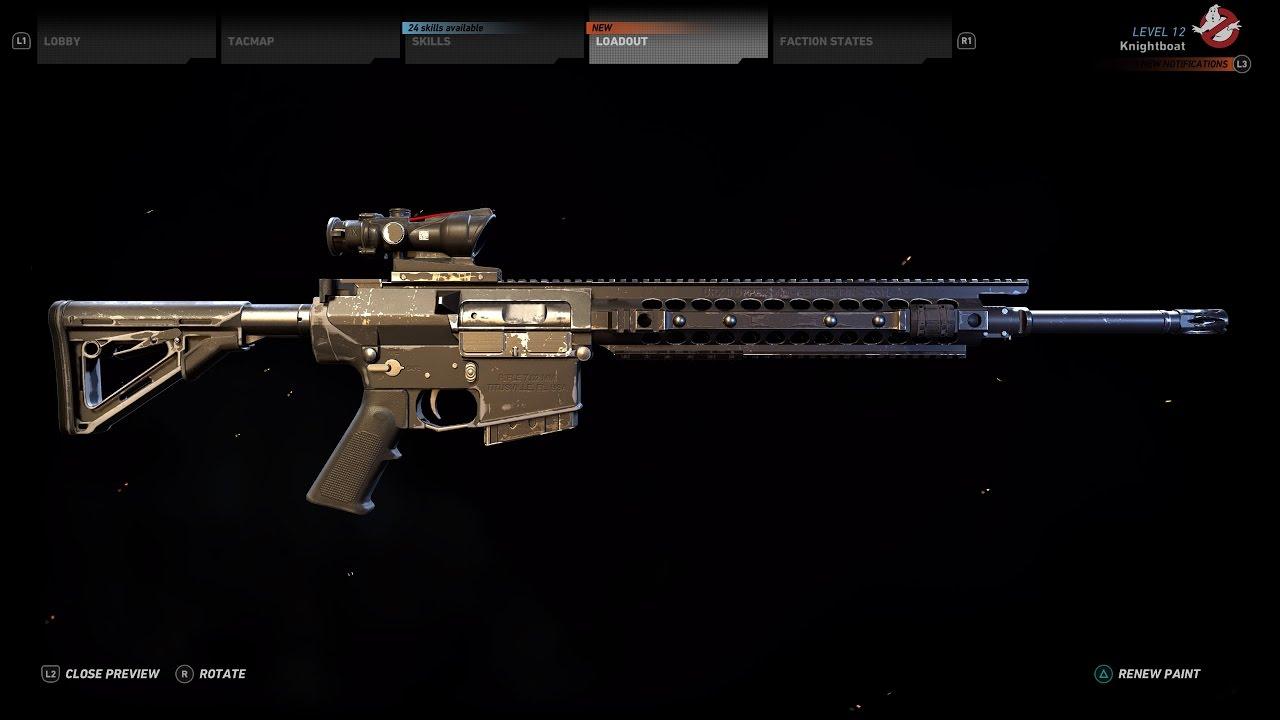 Tom Clancys Ghost Recon Wildlands Sniper Rifle SR25 Location