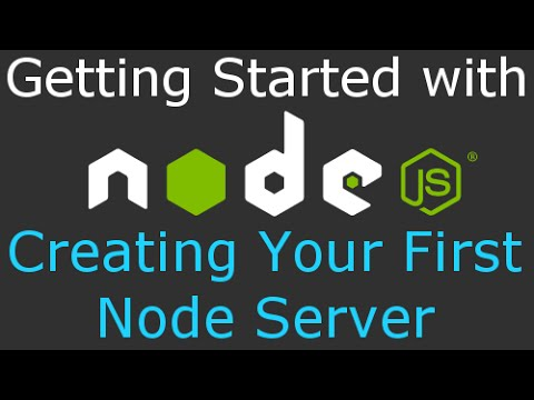 Learn Node JS Tutorial - Getting Started with Node: Downloading, Installing, and Setting Up
