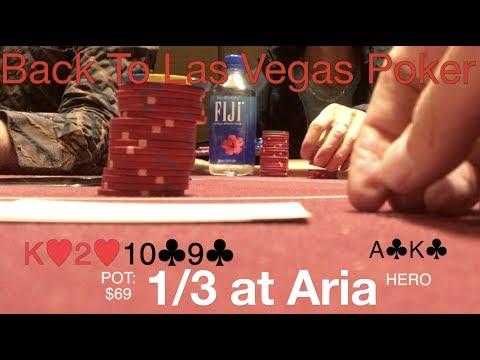 Poker Vlog #9 Ryan Frechette Back To Las Vegas Poker, 1/3 NL at Aria