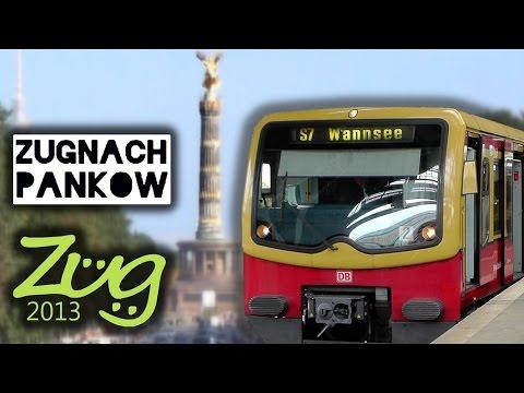 Zug2013: Die Berliner Stadtbahn (2014) - mit ICE, IC, BR182, BR442, BR481 u.v.m.