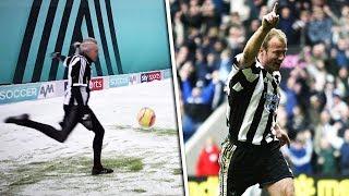 Jimmy Bullard Recreates | Alan Shearer's CLASSIC volley against Everton!