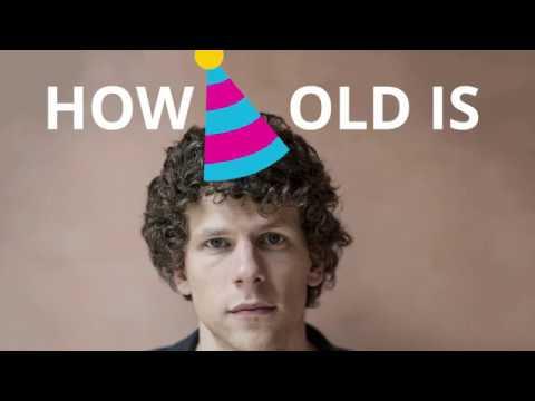 How Old Is Jesse Eisenberg? 🍰🎈