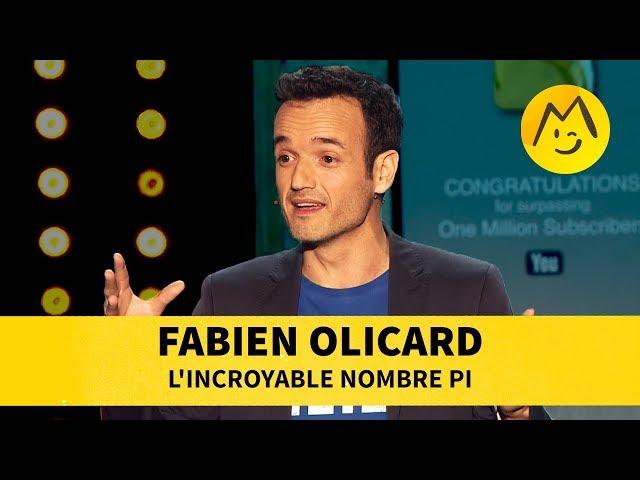Montreux comedy fabien olicard-l'incroyable nombre pi