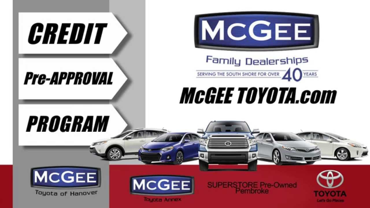 Mcgee Toyota Hanover >> Car Loans In Hanover Ma Auto Loans In Hanover At Mcgee Toyota