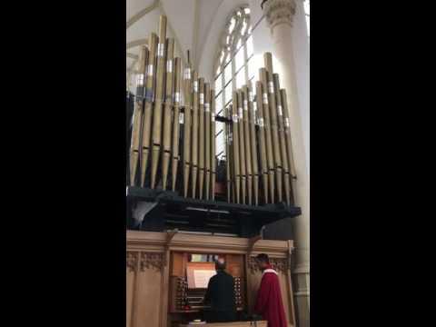 Father Willis Organ Hooglandse Kerk Leiden - Hendrik Andriessen part 1