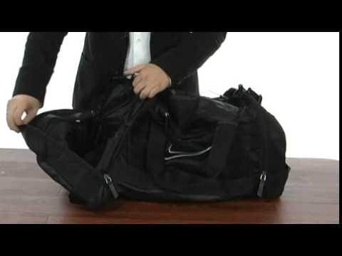 Nike Ultimatum Max Air Medium Duffel Black Black (White) - Robecart.com  Free Shipping BOTH Ways 2e39ca3a87
