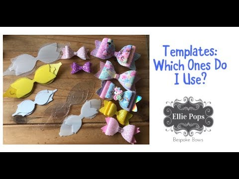 Bow Templates: Which ones do I use?