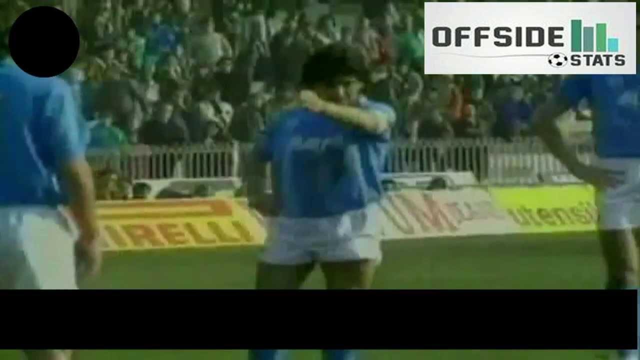 Los mejores 30 goles de Maradona en Napoli (1984-91)