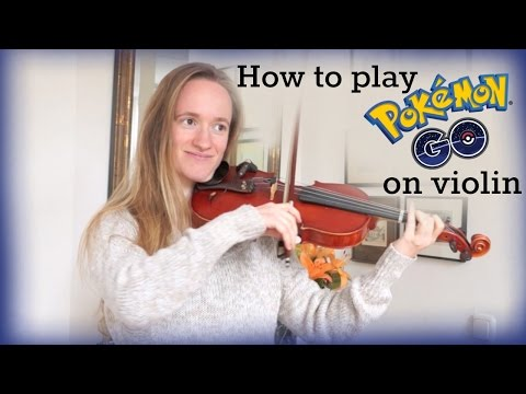 How to play Pokemon Go Theme (Walking Map) | Easy Violin Tutorial