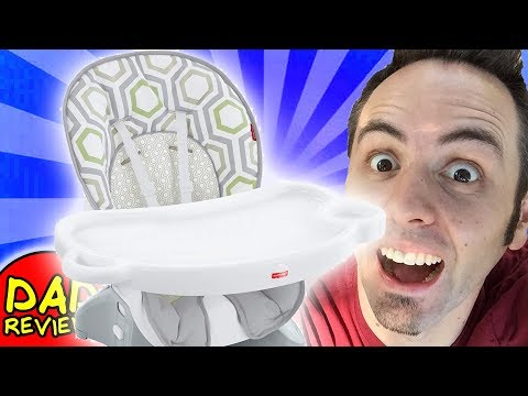 BEST HIGH CHAIR FOR BABY | Fisher Price Space Saver High Chair Unboxing & First Look Review