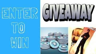 GIVEAWAY!!!! Enter to win 2500 VBucks and Custom Fortnite Socks!!