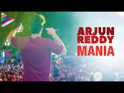 Arjun Reddy Movie Mania | Vijay Devarakonda Surprised by Fans | Shalini | Telugu Filmnagar