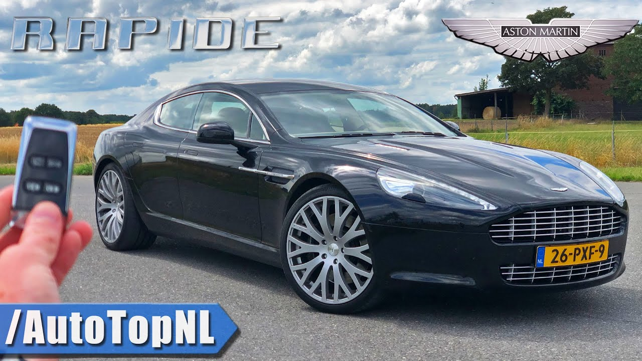 Aston Martin Rapide V12 Review On Autobahn No Speed Limit By Autotopnl Youtube