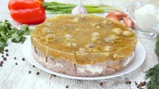 Грибной торт - Рецепты от Со Вкусом