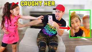 WE WENT THROUGH OUR DAUGHTER'S PHONE!! *bad idea* | Jancy Family