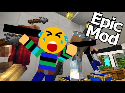 KAN DIT DOOR BEDROCK HEEN KOMEN?!!! EPIC MOD #22