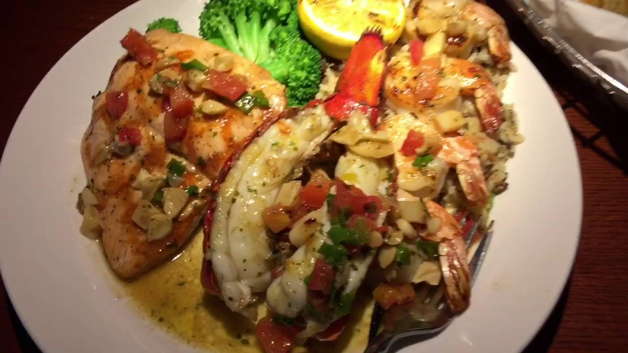Red Lobster Irving Texas ( Wood Grilled Lobster And Salmon )
