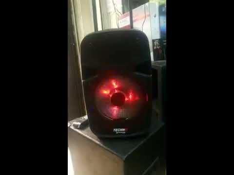 Demo Of Techno Tamashi Portable Powered Speaker Size 8 - Berklyn electronics Manila