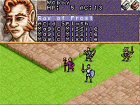 Dungeons & Dragons: Eye of the Beholder for Game Boy ...