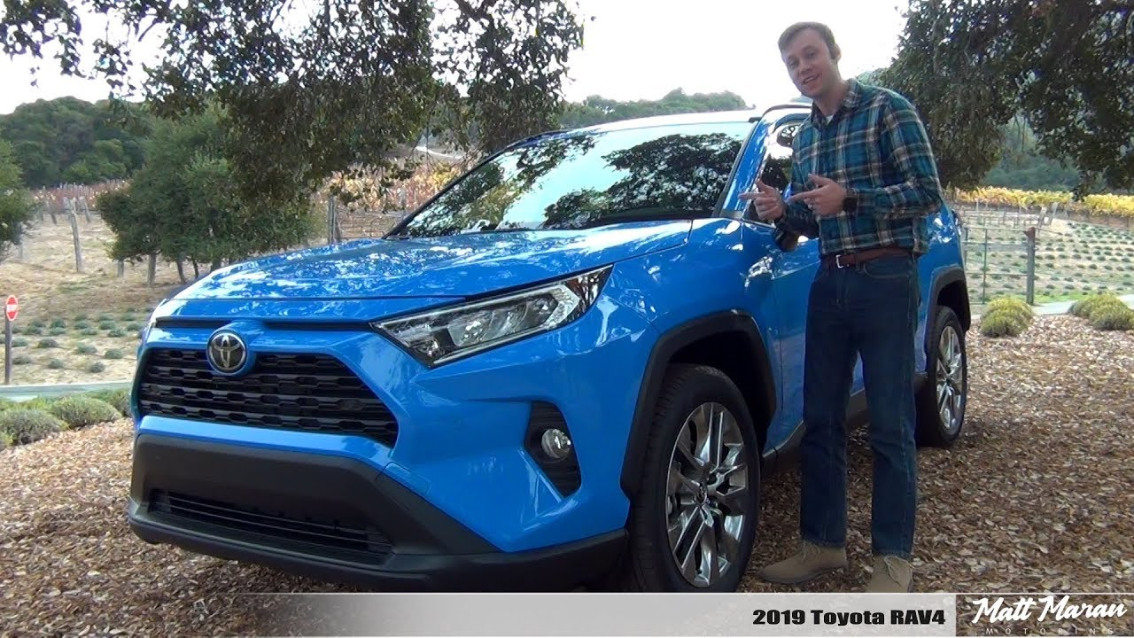 Review 2019 Toyota Rav4 Gas Hybrid Better Than Ever