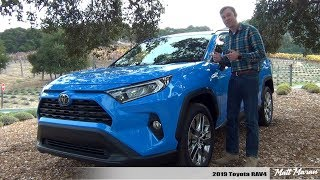 Review: 2019 Toyota RAV4 (Gas + Hybrid) - Better than Ever!
