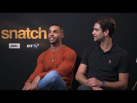 Luke Pasqualino & Lucien Laviscount Talk 'Snatch' Season 1