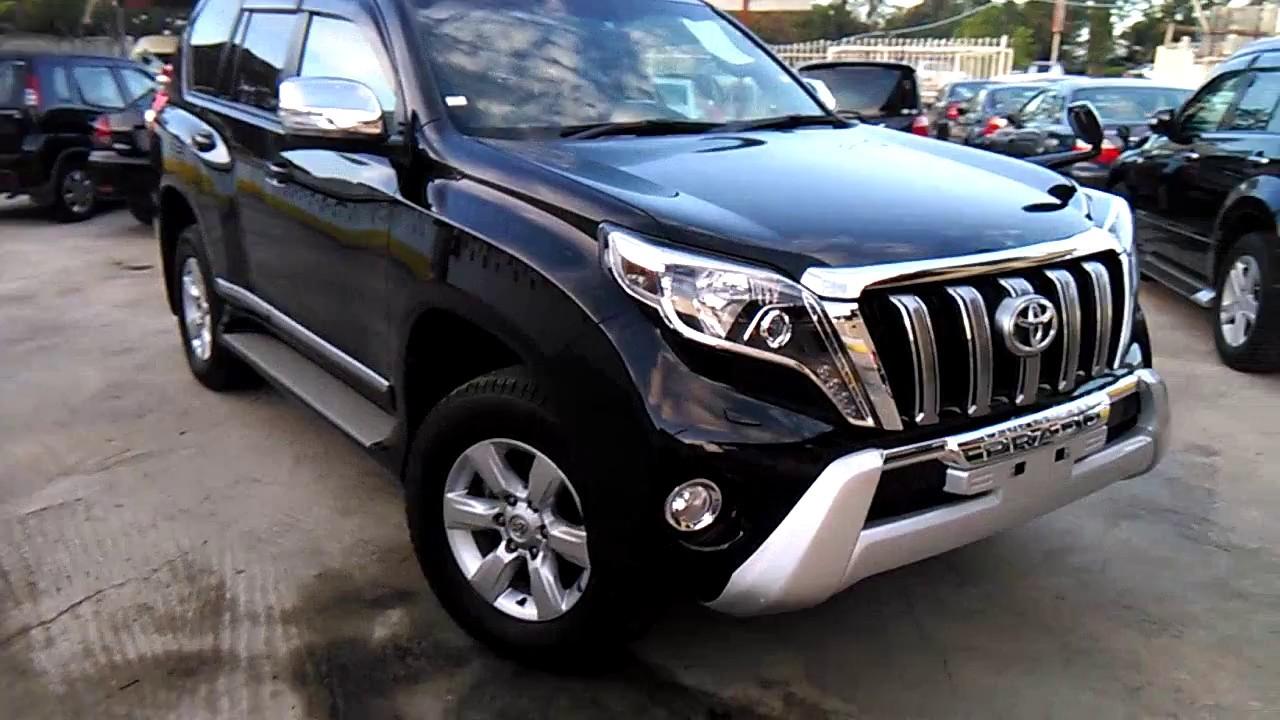 Toyota Prado TX 2014 Black Available at HARAB MOTORS - YouTube