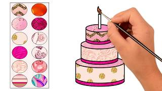 Glitter Coloring Pages || Coloring For Kids ||