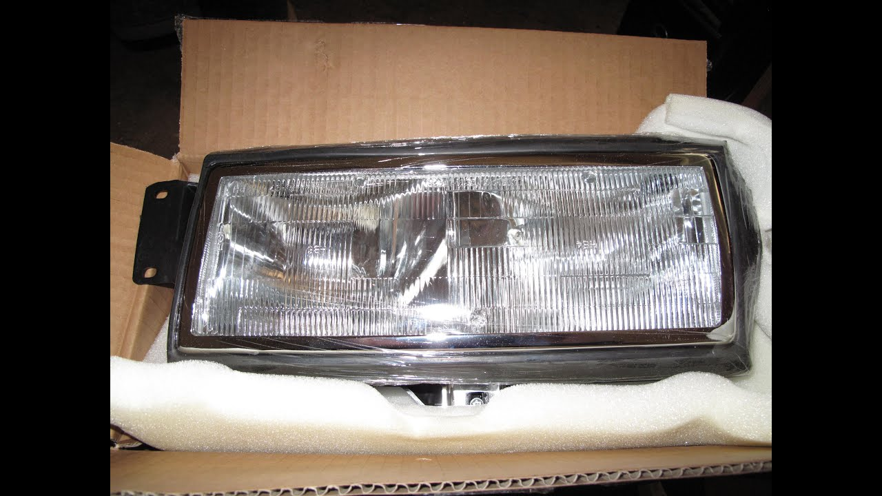 medium resolution of 90 s cadillac headlight replacement
