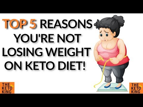 Why am I not losing weight on Keto Diet | Stopped losing weight on keto | Weight Loss plateau keto