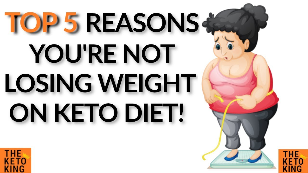 Why Am I Not Losing Weight On Keto Diet Stopped Losing Weight On Keto Weight Loss Plateau Keto Youtube