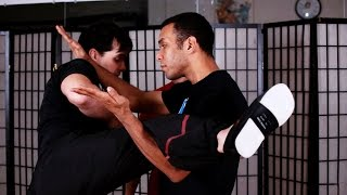 How to Do Lau Gerk aka Kick Defense | Wing Chun