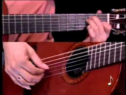 enseñando We are the champions en guitarra