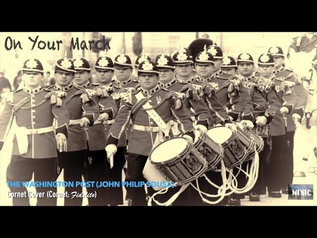 The Washington Post (John Philip Sousa) - Cornet Cover