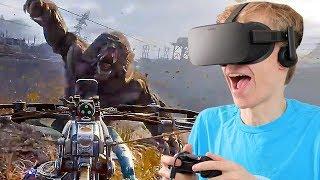 VIRTUAL REALITY SURVIVAL GAME! | Metro Exodus VR (Oculus Rift Gameplay)