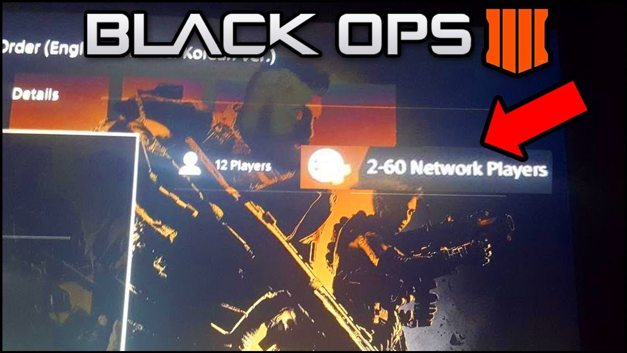 Black Ops 4 - 60 PLAYERS MAX SIZE IN BLACKOUT! Player Count Leaked + New  Unoriginal Map Design (BO4)
