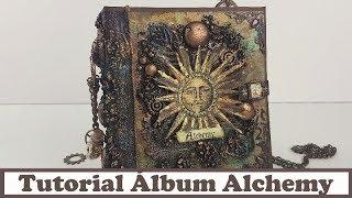 Tutorial Álbum Alchemy: Reto con La tienda de las manualidades