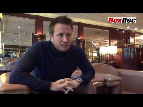 Kalle Sauerland Boxrec News Interview Part 1, Stuttgart, 25th January 2014