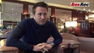 Kalle Sauerland Boxrec News Interview Part 1, Stuttgart, 25th January 2014
