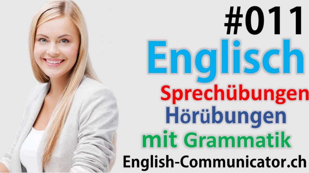 11 Englisch grammatik für Anfänger Deutsch English Sprachkurse Word ...