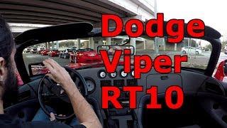 Gen 1 Dodge Viper RT10 raw sound ride along
