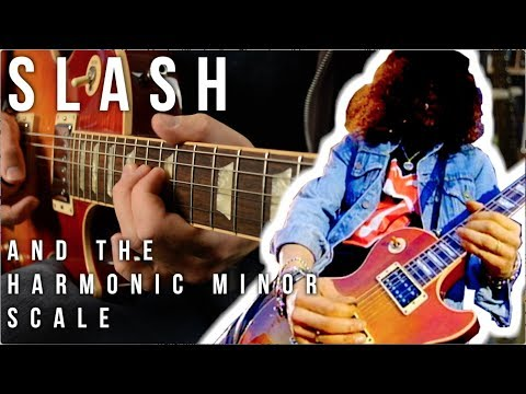 Slash and the Harmonic Minor Scale