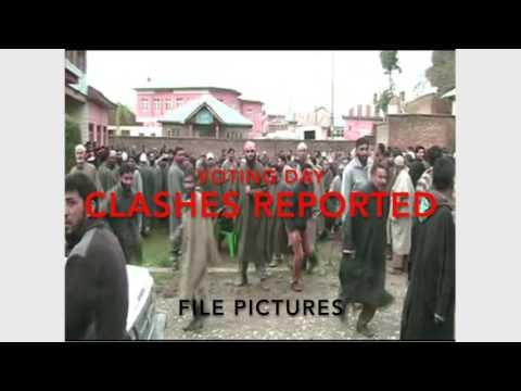 Kashmir Voting Day Violence